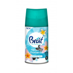 Automatinio oro gaiviklio pakeitimas Brait Relaxing Moments 250ml