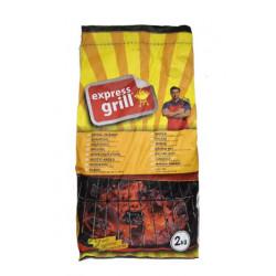 Medžio anglis Express Grill 2kg