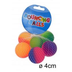 Šoklūs kamuoliukai Ø40mm 6vnt
