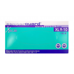 Vienkartinės pirštinės Semperguard nitrilinės dydis XL 180vnt